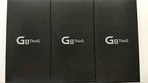 Lot of 3 New LG G8 ThinQ G820UM Sprint 128GB Clean IMEI IP-8416