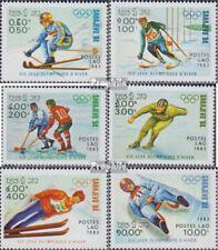 Laos 661-666 (complète edition) neuf avec gomme originale 1983 Jeux Olympiques J