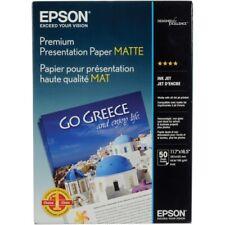 Epson Matte A3 11.7x16.5 Premium Presentation Photo Paper - 50 sheets