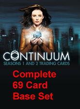 2014 Continuum Staffel 1 & 2 Komplett 69 Karte Sockel Set Sehr Selten Produkt