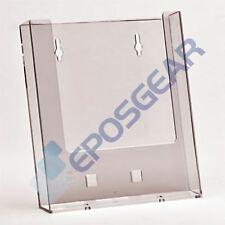 5 A5 Wall Mount Leaflet Menu Brochure Holder Retail Shop Display Dispenser