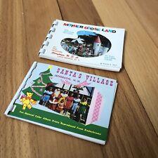 Vintage Santas Village / Mother Goose Land Souvenir Old Picture Prints Albums