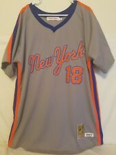 Darryl Strawberry Mets Jersey 56 Cooperstown Collection New York Gray Stitched