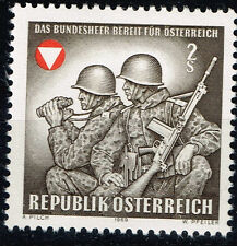 Austria Cold War Military Army Soldiers stamp 1969 MNH