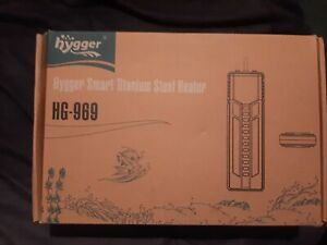 Hygger 800W Smart Titanium Steel Aquarium Heater for Fresh Water or Saltwater
