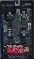 The Walking Dead SDCC 2014 Exclusive Minimates Days Gone Bye B/W Boxed Set MINT