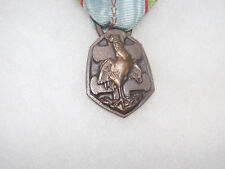 France Ww2 Commemorative Medal Military Service 1939-45 DÉFense Passive Bar
