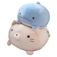 Cuddly Fat Cat Penguin Bear Plush Toys Super Soft Stuffed Animals Pillow Doll