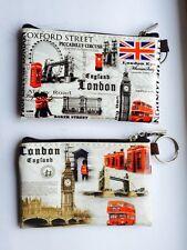 2 X London England UK Coin Money Bag Wallet Purse Souvenir Gift
