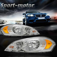 for 2006-2013 Chevy Impala 2006 2007 Monte Carlo Headlights Assembly Kit Pair
