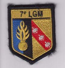 PATCH MILITARY - INSIGNE TISSU PATCH DE LA 7° LGM POUR !