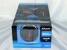DEFI BLUE RACER ELECTRONIC WATER OIL TEMPERATURE GAUGE