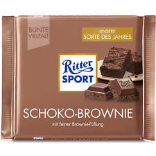Ritter Sport Chocolate Brownie 100g (Product of year 2017)