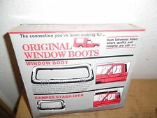 "Original Window Boot  3"" Gap 22"" x 50""  Reduce Camper Bounce WBS-3 Pass-Thru NEW"
