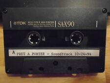 RARE Pret-a-Porter DEMO CASSETTE TAPE soundtrack U2 Janet Jackson Cranberries !