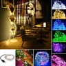 50/100/200 LED USB Micro Rice Wire Copper Fairy String Lights Party Decoration