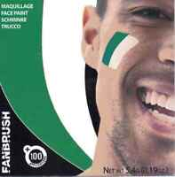 पाकिस्तान झंडा Cricket World Cup Pakistan Flag Face Paint Green and White