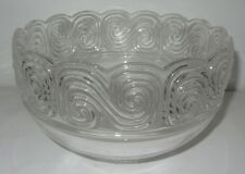 TIFFANY LARGE CRYSTAL CENTRE PIECE BOWL  grand bol de fruits
