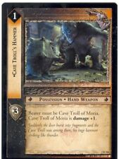 Lord Of The Rings CCG FotR Card 1.R166 Cave Trolls Hammer