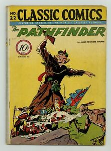 Classics Illustrated 022 The Pathfinder 1A GD/VG 3.0 1944