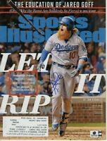Justin Turner Signed Autographed Magazine Sports Illustrated 2017 GV917209