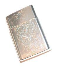 Fujima Metal Kings 100's 2 in 1 Flip Fit Cigarette Case Pack Holder Style C