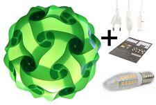 Puzzle Lampe 17cm Design Leuchte Geschenkidee Bausatz Stimmungslicht grün