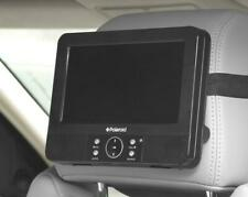 "Polaroid 7"" Headrest DVD Player - USB Playback - Multi Region Free 0 1 2 3 4 5"