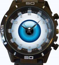 Eyeball Funny Beautiful Art New Gt Series Sports Wrist Watch