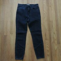 Madewell High Riser Skinny Jeans Womens Black Size 30 NEW