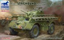 Bronco 1/35 T17E1 Staghound MK.L Voiture Blindée Dernier avec/12 Pieds Assault