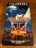The Majestic VHS VCR Video Tape Movie Jim Carrey Used