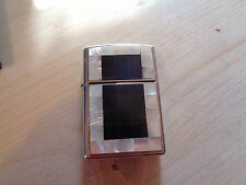 ZIPPO LIGHTER  PEARL AND BLACK MOSAIC 2005 NEW 28200