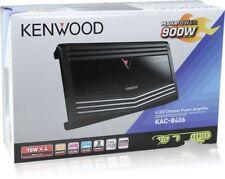 Kenwood KAC8406  KAC-8406 900 Watts 4-Chanel Class AB Car Amplifier Brand NEW