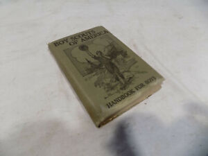 1911 BOY SCOUTS OF AMERICA HAND BOOK FOR BOYS ORIGINAL FIRST EDITION HARDCOVER