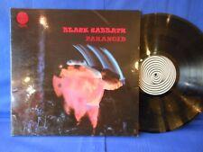 BLACK SABBATH PARANOID LP 1971 UK PRESS VERTIGO LAMINATE COVER  SUPERB EXC+