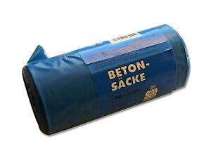 Beton Sack - 120 Liter Abfallsäcke - TYP100 Extrem Stark - Baubedarf Betonsäcke