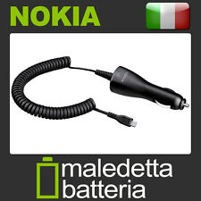 Caricabatterie Auto Originale Nokia DC-6 MicroUsb Nokia Lumia Samsung Lg Htc YC4