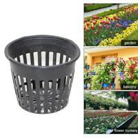 10pcs Heavy Duty Mesh Topf Net Cup Basket Hydroponic Aeroponic Pflanzen To Heiß