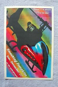 Smashing Pumpkins Concert Tour Poster 1991 at the Underground__