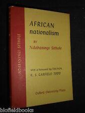 African Nationalism: Ndabaningi Sithole & R S Garfield Todd, 1959-1st, Africa