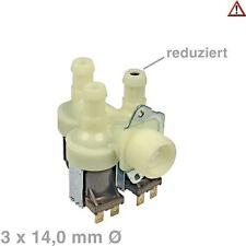 Magnetventil Ventil Waschmaschine Ersatz für Miele 1987730 Ausgang 1 reduziert
