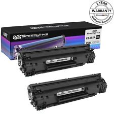 2 Pack 35A CB435A Black Laser Toner for HP Laserjet P1002 P1005 P1006 P1007
