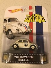 Hot Wheels 2014 Retro Entertainment VW Beetle Herbie the Love Bug