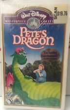 NWT Walt DISNEY PETE'S DRAGON VHS MASTERPIECE COLLECTION SEALED WHITE CLAMSHELL