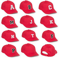 NEW BASEBALL CAP LETTER A Z Alphabe HAT BEANIE SNAPBACK Adjustable Strap
