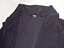 Onyx Nite Cardigan Women's Sexy Casual Long Sleeve Sweater Bolero Size L Black