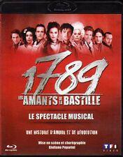 1789 LES AMANTS DE LA BASTILLE ... LE SPECTACLE MUSICAL   ...  BLURAY