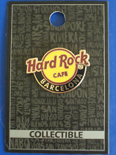 HRC Hard Rock Cafe Barcelona Logo New Style Holo Guitar Pick 2019 New OVP