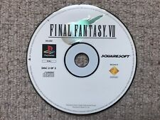 Final Fantasy VII Disk 2 - Sony Playstation PS1 DISK 2 ONLY UK PAL